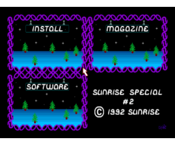 Sunrise Picturedisk 02 (1992, MSX2, Sunrise)
