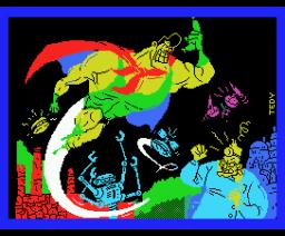 Capitán Sevilla (1988, MSX, Dinamic)
