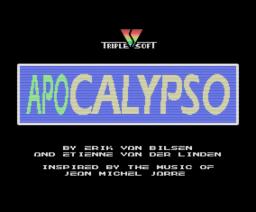 Apocalypso (1992, MSX, Triple Soft)