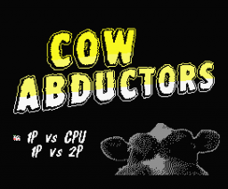 Cow Abductors (2009, MSX, Paxanga Soft)