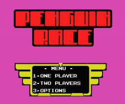 Penguin Race (2003, MSX, Dioniso)