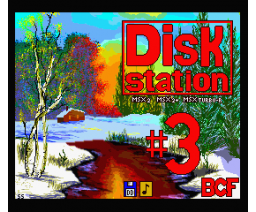 BCF Disk Station #3 (1990, MSX2, MSX2+, Turbo-R, BCF)