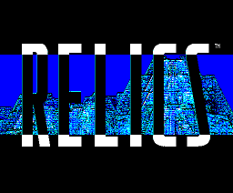 Relics (1986, MSX2, Bothtec)