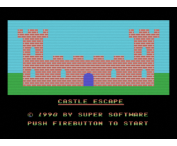 Castle Escape (1990, MSX, Super Software)