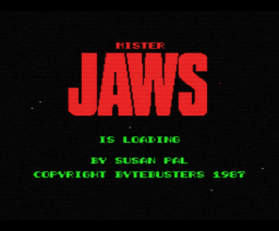 Mr. Jaws (1987, MSX, The Bytebusters)