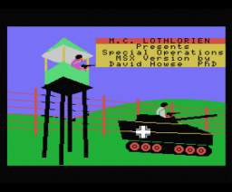 Special Operations (1984, MSX, MC Lothlorien)
