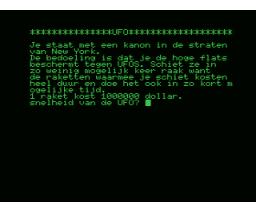 UFO (1985, MSX, J. Stolwerk)
