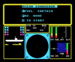 Ocean Conqueror (1987, MSX, Mastertronic)