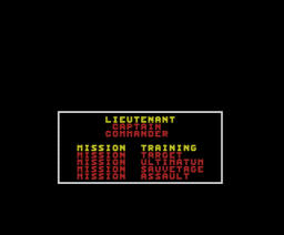 Hostages (1990, MSX, Infogrames)
