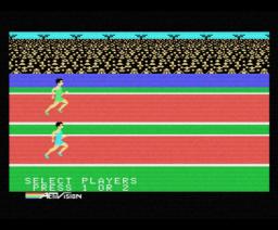 Decathlon (1984, MSX, Activision)