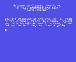 Classic Adventure (1986, MSX, Melbourne House)