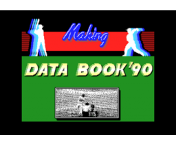 Way to Baseball Databook '90 (1990, MSX2, Nihon Create)