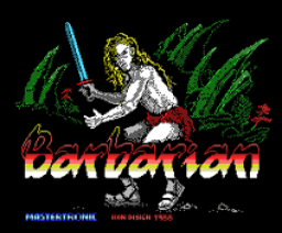 Barbarian (1988, MSX, Melbourne House, Psygnosis Limited)