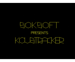 Koustracker (1993, MSX2, Soksoft)