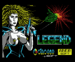 Legend (1988, MSX, Genesis Soft, Iber Soft)