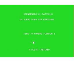 El Patíbulo (1985, MSX, GEASA)