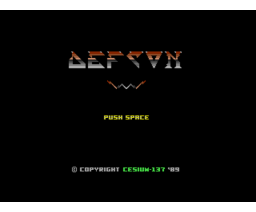 Defcon (1987, MSX2, Cesium-137)