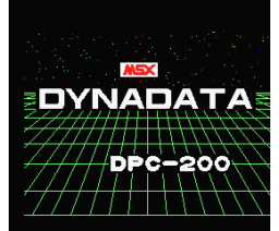 Sample Program DPC-200 (MSX, Dynadata)