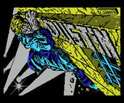 Dustin (1987, MSX, Dinamic)