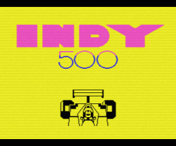 Indy 500 (1987, MSX, Methodic Solutions)