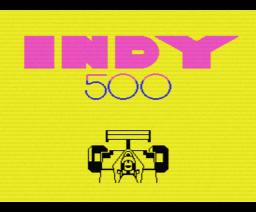 Indy 500 (1987, MSX, Methodic Solutions)