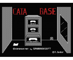 Catabase (1987, MSX2, Sparrowsoft)