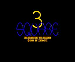 3 Square (1993, MSX2, Emphasys)