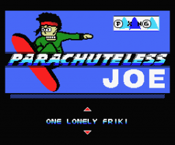 Parachuteless Joe (2005, MSX, Paxanga Soft)