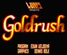 Goldrush (1993, MSX2, Vivid)