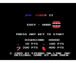 Jawbreaker II (2014, MSX, Maggoo)