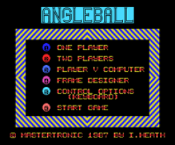 Angleball (1987, MSX, Mastertronic)