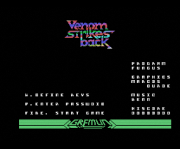 Mask III: Venom Strikes Back (1988, MSX, Gremlin Graphics)