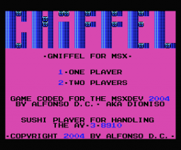 Gniffel (2004, MSX, Dioniso)