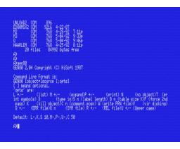 Devpac80 (1985, MSX, Hisoft)