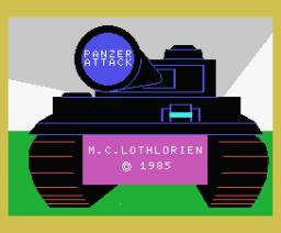 Panzer Attack (1984, MSX, MC Lothlorien)