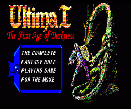 Ultima I - The First Age of Darkness (1986, MSX2, Origin Systems)