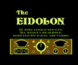 The Eidolon (1985, MSX2, Activision, Lucasfilm Games)