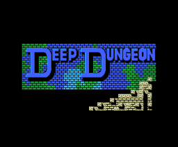 Deep Dungeon (1988, MSX, Scaptrust)