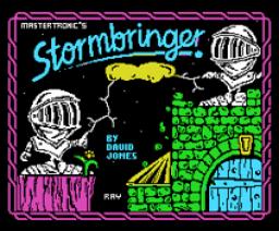 Stormbringer (1987, MSX, Mastertronic)