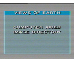 SpaceDisc Vol. 5 Views of Earth  (1986, MSX, LaserDisc Corporation)