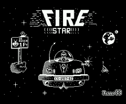 Fire Star (1988, MSX, OMK Software)