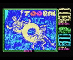 Toobin (1988, MSX, MSX2, Domark)