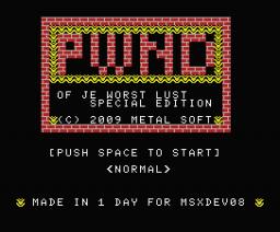 PWND (2008, MSX, Vampier)