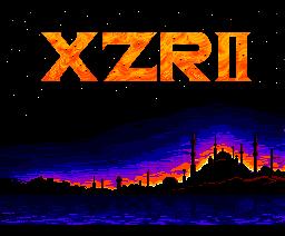 XZR II (1988, MSX2, MSX2+, Telenet Japan)