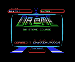 Drome (1987, MSX, The Bytebusters)