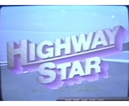 Highway Star (1984, MSX, Victor Co. of Japan (JVC))