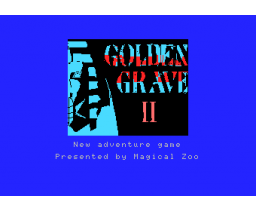 Golden Grave II - Mystery of Sphinx (1985, MSX, Stratford Computer Center Corporation)