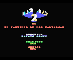 Mad Mix 2: en el Castillo de los Fantasmas (1990, MSX, Topo Soft)