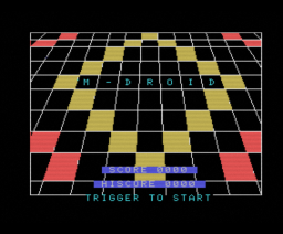 M-Droid (1986, MSX, Blue Ribbon Software)