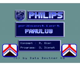 FAMULUS (1986, MSX2, Data Beutner)